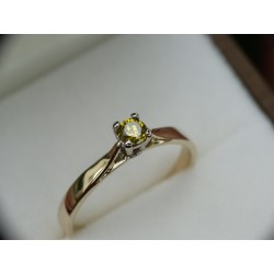 GOLDEN RING 585 DIAMOND...