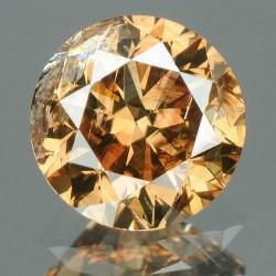 Naturalny diament różowy brązowy