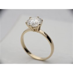 Gold ring 585 With...