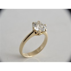 Gold ring 14 k 585 With...