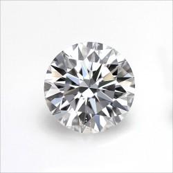 moissanit diament white biały
