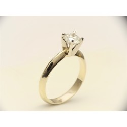 Gold ring 585 Big Diamond E...